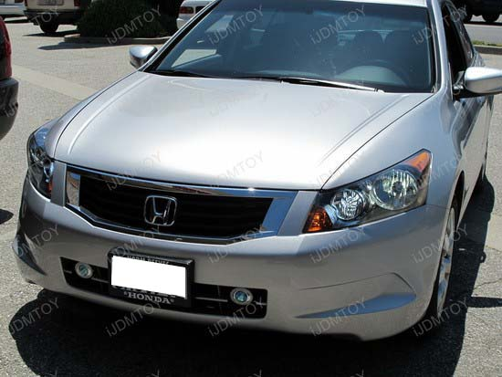 Honda - Accord - HID - conversion - HB3 - SMD - LED - DRL - 7